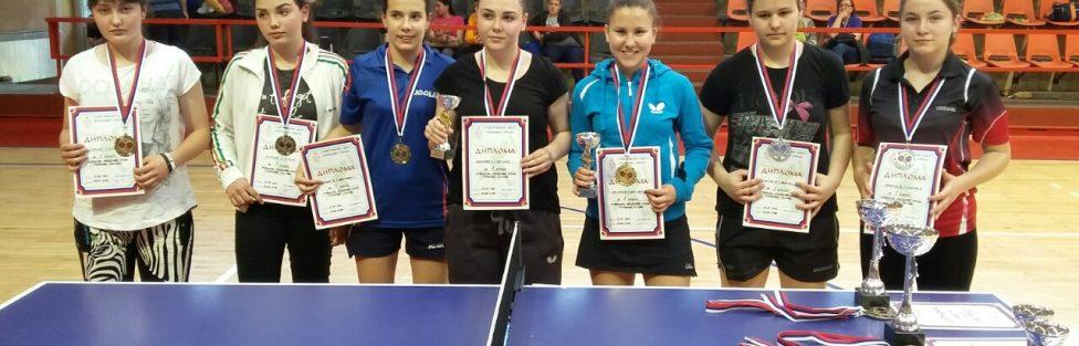 Markovićeva i Mihailović najbolji na juniorskom pojedinačnom prvenstvu