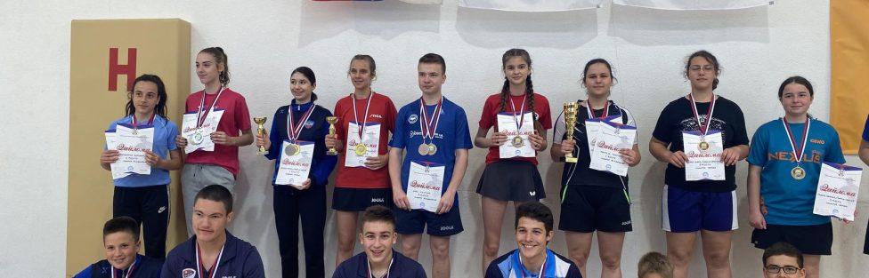 Dario Pejić i Marija Gnjatić najbolji na pojedinačnom prvenstvu Republike za juniore i juniorke