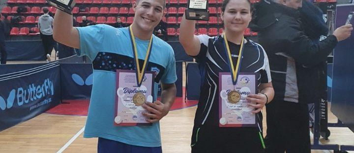 Gnjatićeva i Pejić najbolji u BIH na TOP-8 za juniorke i juniore